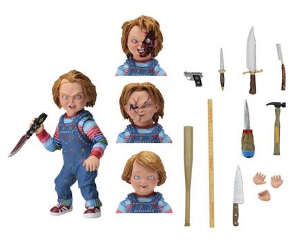 NECA Childs Play Ultimate Chucky Scale Action Figure